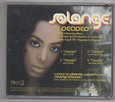 Solange I Decided & Sand Castle Disco 2008 Lot of 2 Promo CD Singles