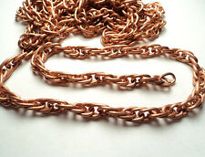 6 FT -  COPPER COATED STEEL ROPE CHAIN - CCS3