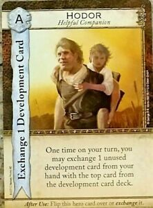 LIMITED! Game of Thrones Catan: Hodor character card Promo PAX UNPLUGGED HBO