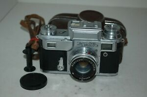 Kiev-IIIa (3a) Vintage 1959 Soviet Rangefinder Camera, Case. No.593169. UK Sale