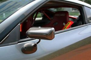 CRAFT SQUARE TCA-F CARBON REAR VIEW SIDE DOOR RACING MIRROR FOR NISSAN R35 GT-R