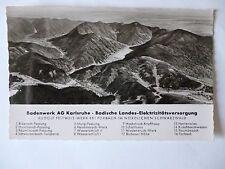 Postal Baden obra AG Karlsruhe Forbach selva negra (nº 587)