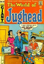 ARCHIE GIANT SERIES MAGAZINE #157 F, The World of Jughead, Archie Comics 1968