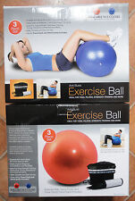 Pro Fitness Exercise Balls with Pumps