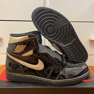 Jordan 1 Retro High OG / Black Metallic Gold / Size 13 / Fast Shipping!