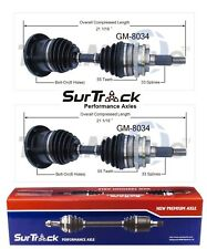For GMC K2500 Suburban 1992-1994 4WD Pair of Front CV Axle Shafts SurTrack Set