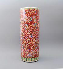 Keramik Schirmständer / Regenschirmständer / Schirmhalter / Ständer 56cm rot