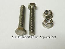 Suzuki Bandit GSF1200/GSX1400 Chain Adjuster Bolts Set - S/S