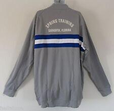 nwt~Adidas DINGER JACKET SPRING TRAINING SARASOTA Baseball Track Sweat shirt~2XT