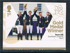 GB 2012 OLYMPIC GOLD MEDAL EQUESTRIAN JUMPING 1V S/ADH