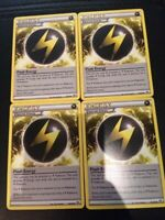 Flash Energy x4 83/98 Near Mint - Ancient Origins Pokemon Card