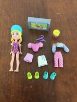Polly Pocket Doll With Clothes & Accessories Multiple Outfits #22