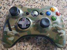 Official Microsoft Xbox 360 Special Edition Camo HALO 4 Wireless Controller!
