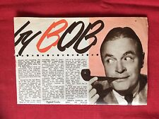 m2f ephemera 1955 article bing crosby bob hope
