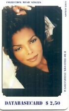 RARE / CARTE TELEPHONIQUE - JANET JACKSON / PHONECARD LIMITED EDITION 99 EX.