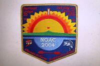 OA NENTEGO LODGE 20 DEL-MAR-VA CARDINAL BASS 2004 NOAC DELEGATE FLAP GMY VARIANT