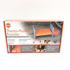 K & H Pet Products Small Gray/ Orange Thermo-Poultry Brooder New 25 Watts