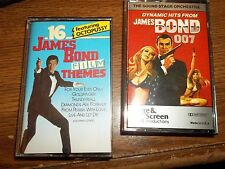 DYNAMIC HITS FROM JAMES BOND 007 16 JAMES BOND FILM THEMES TAPE CASSETTE  (WW4)