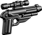 BrickArms GKS-2 Blaster Pistol Weapons for Brick Minifigures Star Wars