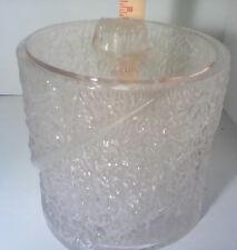Vintage Acrylic Ice Bucket w/Lid