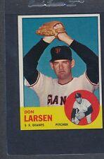 1963 Topps #163 Don Larsen Giants EX *1205