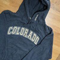 Vintage USA College Colosseum Colorado Buffaloes Grey Hoodie - Mens Large