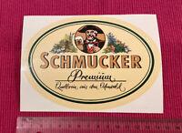 Aufkleber Schmucker Premium - Quellrein aus dem Odenwald
