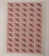 Angola Birds 15 c Bogen (sheet) mit 50 Marken
