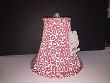 Pink Red Flower Pop Mod Retro Modern Lamp Shade Barrell