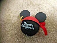Disney Pirates of Caribbean Mickey Skull & Bones Earring Car Antenna Topper