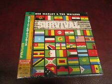 BOB MARLEY SURVIVAL JAPAN OBI REPLICA LP RARE GATEFOLD JACKET LIMITED EDITION CD