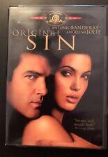 ☀️ Original Sin DVD ANTONIO BANDERAS ANGELINA JOLIE