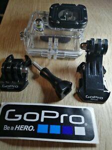 Caisson étanche Gopro héro 3/3+/4 + accessoires