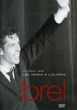 Jacques Brel - Adieux a L'olympia Amaray Version [New Misc] France - Import, PAL