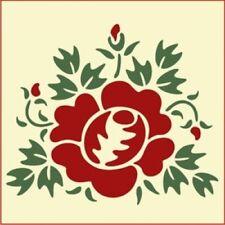 SINGLE ROSE  - BOTANICAL  -  The Artful Stencil
