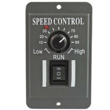 1pc Pwm 12v 24v 48v Dc Motor Speed Reducer Controller With Switch