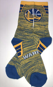 Golden State Warriors NBA Crew Socks With Large Team Logo