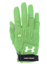 New Under armour illusion women's lacrosse glove - lime green -Large