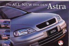 1999 HOLDEN TS ASTRA Australian Brochure Rebadged OPEL ASTRA G