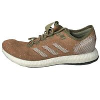 Men's Adidas Pureboost Running Shoes Sneakers B37786 Raw Khaki Orange Size 10.5
