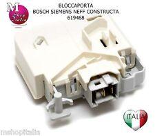 Bloccaporta serratura lavatrice lavatrice Bosch Siemens Neff 00619468 00633765