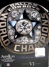 NFL Americas Game Dallas Cowboys Super Bowl VI NEW! DVD,1971 FOOTBALL,TOM LANDRY