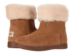 Toddler UGG Jorie II Boot Suede Upper 1097034T Chestnut 100% Original Brand New