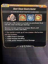 Xbox Borderlands 3 Bounty Hunter (Perfect Roll)