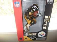MCFARLANE NFL 12 INCH JEROME BETTIS PITTSBURGH STEELERS BLACK JERSEY HOF