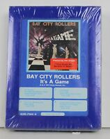 New NOS Bay City Rollers Vintage 8 Track Tape SEALED It's a Game 1977 Rock Music