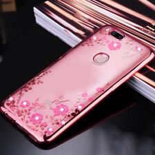 For Xiaomi Mi A1/5X, Fashion Ladies Girls Crystal Bling Soft Clear Cover Case