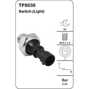 Tridon Oil Pressure Switch TPS038 fits Daewoo Kalos 1.5