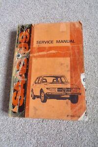 SAAB 99 SERVICE MANUAL 1969 - 1974 PN 103559