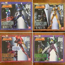 Bandai Neon Genesis Evangelion Soul of Chogokin Figures